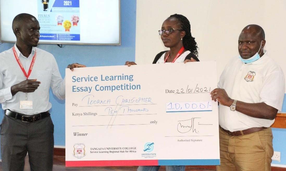 Service Learning Essay and Business Idea/Project Competition